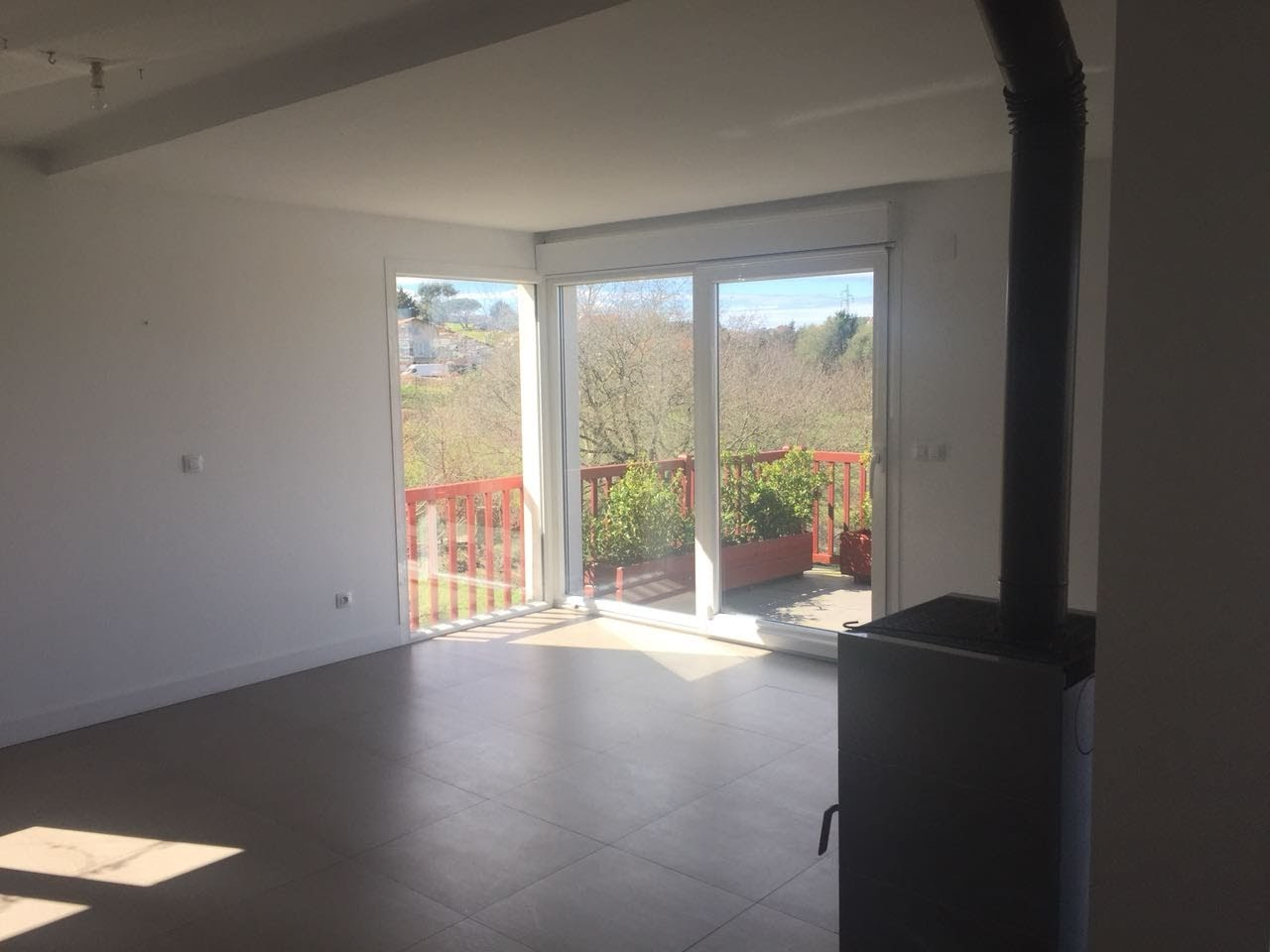 Aménagement appartement à Bidart par Nadia Duffieux Décoratrice à Montpellier - AVANT