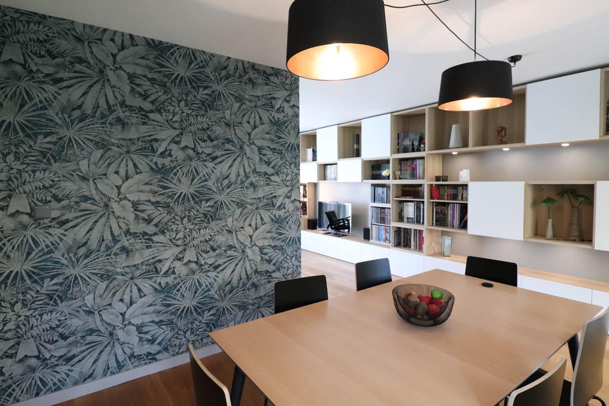 Design Salon Salle A Manger aménagement et décoration d'un salon/salle à manger à