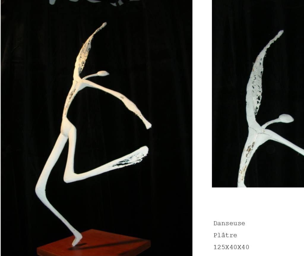 Sculpture platre Nadia Duffieux Designer