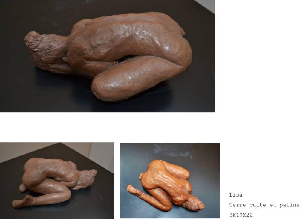 Sculpture terre cuite Nadia Duffieux Designer