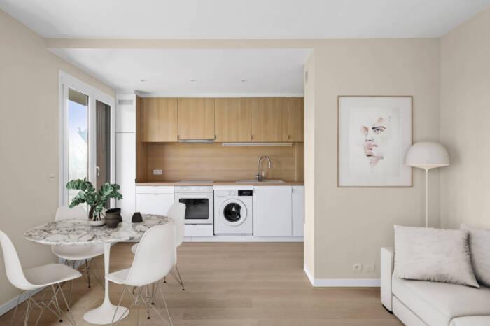 Rénovation appartement Colombes par Nadia Duffieux Architecte d'intérieur