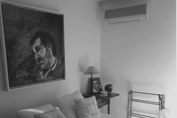 Chambre avec climatiseur