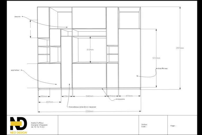 Le plan meuble sur mesure