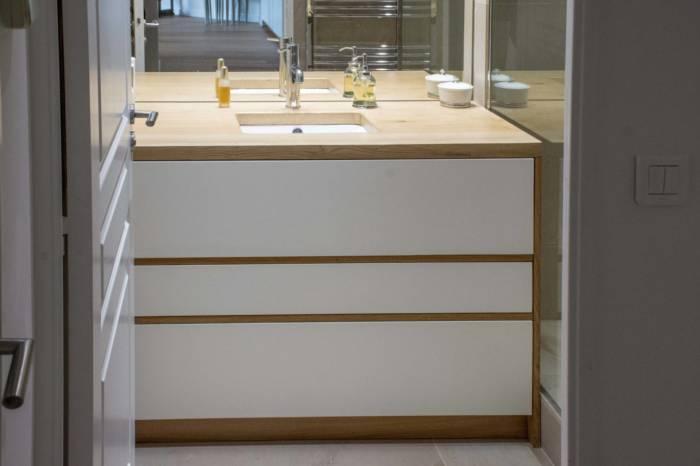 Conception d'agencement pour salle de bain à Lattes (34) - APRES